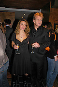 Mr. and Mrs. Gordon Ramsay. Pengelley's opening. 164 Sloane St. London SW1. 22 February 2005. . ONE TIME USE ONLY - DO NOT ARCHIVE  © Copyright Photograph by Dafydd Jones 66 Stockwell Park Rd. London SW9 0DA Tel 020 7733 0108 www.dafjones.com