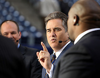 December 2008: Pictures from the NFL Total Access set in Various cities for the 2008 NFL Network Season. Steve Mariucci.
