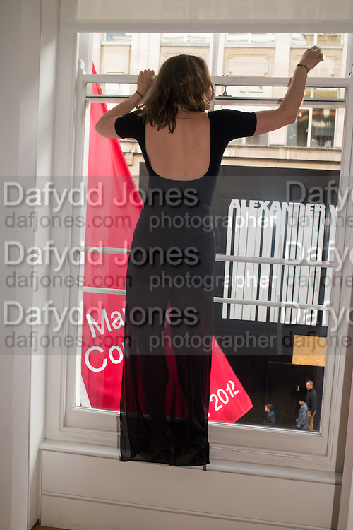 SAMANTHA BREWER, Jason Brooks private view Marlborough Contemporary, Albermarle St. London. 9 June 2015