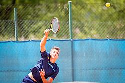 Filip Jeff Planinšek during final of Državno prvenstvo v tenisu Ptuj, on May 30th, 2019 in Radenci, Slovenia. Photo by Blaž Weindorfer / Sportida