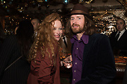 victoria yeates; paul housden, , Nick Cave and the Bad Seeds with The Vampire's Wife and Matchesfashion.com party to celebrate the end of their 2017 World tour. Lou lou's. Hertford St. Mayfair.