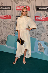 Leonie Hanne at the Fabulous Fund Fair in aid of Natalia Vodianova's Naked Heart Foundation in association with Luisaviaroma held at The Round House, Camden, London England. 18 February 2019.