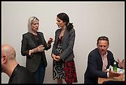 ELIZABETH PRICE;  DOROTHY AVERY;  NEIL STUKE, Matt's Gallery 35th birthday fundraising supper.  42-44 Copperfield Road, London E3 4RR. 12 June 2014.