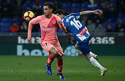 December 8, 2018 - Barcelona, Catalonia, Spain - Philippe Coutinho during the match between RCD Espanyol and FC Barcelona, corresponding to the week 15 of the spanish league, played at the RCD Espanyol Stadium on 08th December 2018 in Barcelona, Spain. Photo: Joan Valls/Urbanandsport /NurPhoto. (Credit Image: © Joan Valls/NurPhoto via ZUMA Press)
