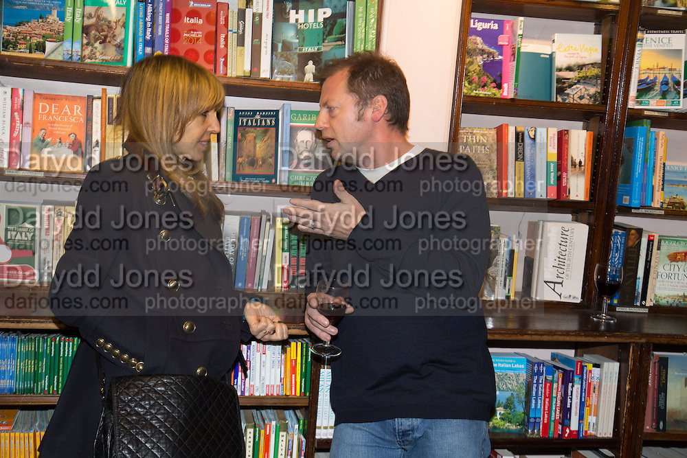 GABY DELLAL; MATTHEW FREUD, Allie Esiri's The Love Book launch party , Daunt Books <br /> 83 Marylebone High Street, London. 5 February 2014
