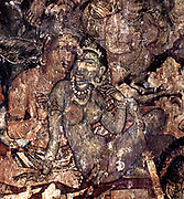 Ajanta Caves India.  Cave painting dating from the second century BCE 3