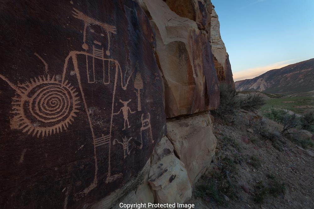 McKee Springs petroglyph, Dinosaur National Monument, Utah