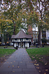 UK ENGLAND LONDON 23NOV11 - Scene in Soho Square in the West End, central London.....jre/Photo by Jiri Rezac....© Jiri Rezac 2011