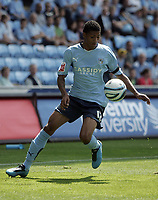 Coventry City v Ipswich Town (2-1) Coca-Cola Championship Ricoh Arena 09/08/09 Chelsea teenager Patrick van Aanholt in action on loan for Coventry City. Photo Patrick McCann/Fotosports International