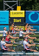 Lucerne, SWITZERLAND. USA M2X. Bow <br />
