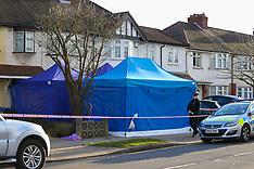 2018-03-16 SWNS - Russian exile Glushkov's  home murder scene