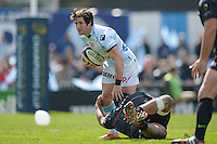 Maxime Machenaud - 05.04.2015 - Racing Metro 92 / Sarances - 1/4Finale European Champions Cup<br />