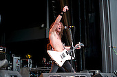 Airbourne at UPROAR Festival in Columbus, OH on August 24, 2010