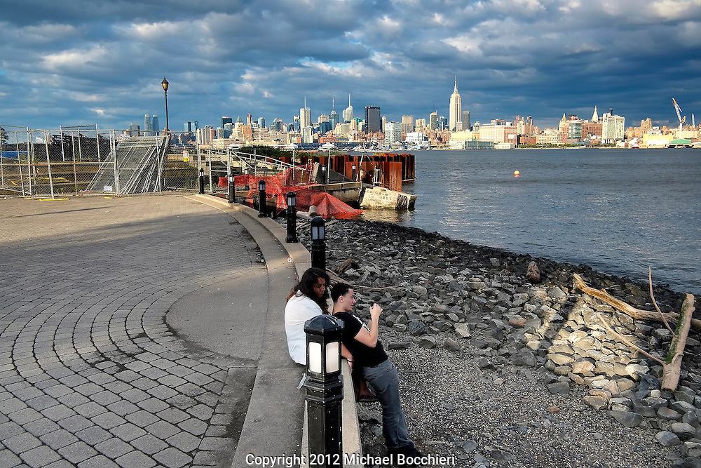 HOBOKEN, NJ - August 18:  General view on August 18, 2012 in HOBOKEN, NJ.  (Photo by Michael Bocchieri/Bocchieri Archive)