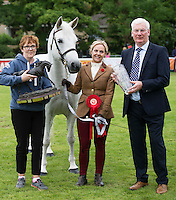 Marion Charlton Forever Aloevera, Fiona Grimes Ballinrobe and Tex Callaghan Galway Crystal at the 93rd annual Connemara Pony show in Clifden Co. Galway  Photo:Andrew Downes, XPOSURE <br />   Photo: Andrew Downes, Xposure.