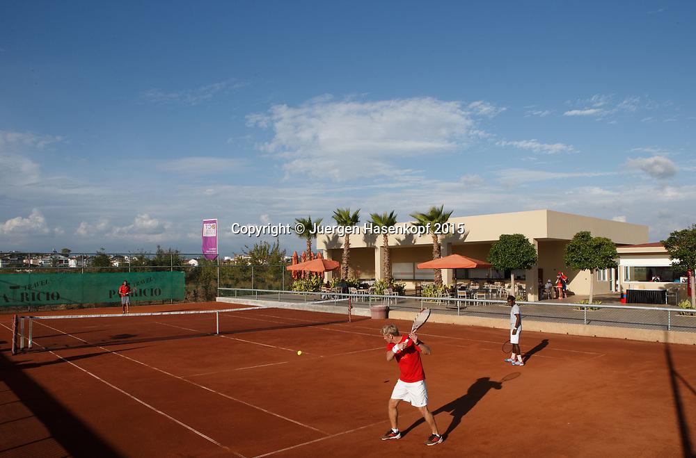mybigpoint LK Tenniscamp im Ali Bey Resort, Side.<br /> <br /> travel -  -  -  Ali Bey Resort Side - Side - Antalya - Tuerkei  - 28 September 2015. <br /> &copy; Juergen Hasenkopf