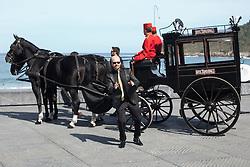 25.09.2015, Madrid, San Sebastian, ESP, San Sebastian International Film Festival, im Bild Santiago Segura poses during `Hotel Transilvania&acute; film presentation // at 63rd Donostia Zinemaldia, San Sebastian International Film Festival in Madrid in San Sebastian, Spain on 2015/09/25. EXPA Pictures &copy; 2015, PhotoCredit: EXPA/ Alterphotos/ Victor Blanco<br /> <br /> *****ATTENTION - OUT of ESP, SUI*****