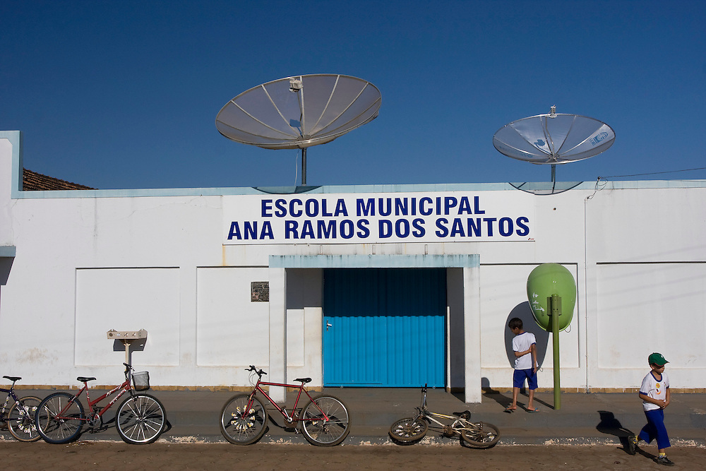Ouvidor_MG, Brasil...Escola Municipal Ana Ramos dos Santos em Ouvidor...Municipal School Ana Ramos dos Santos in Ouvidor...Foto: MARCUS DESIMONI / NITRO