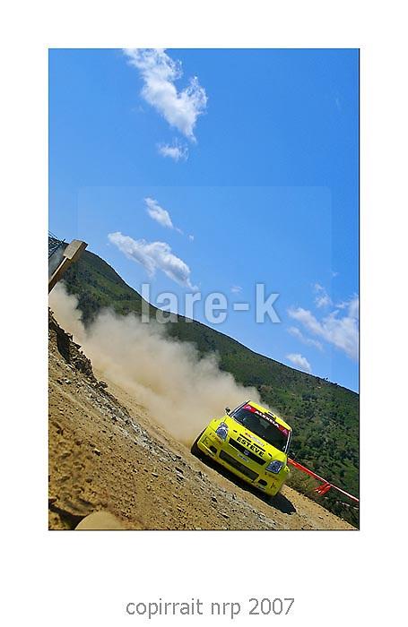 WRC PORTUGAL 2007 JAAN M&Ouml;LDER<br /> SUZUKI SWIFT<br /> JAAN M&Ouml;LDER
