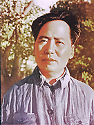 Mao Tse-Tung (Mao Zedong) 1893-1976, Chinese Communist leader.  Mao at Yanan during the resistance to the Japanese invasion.Sino-Japanese War 1937-1945