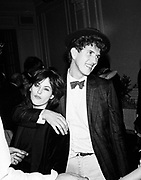 Amanda grieve ( later Amanda Harlech) and Mario Testino. Polish Ball. 11 November 1982. © Copyright Photograph by Dafydd Jones 66 Stockwell Park Rd. London SW9 0DA Tel 020 7733 0108 www.dafjones.com