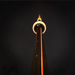 """Drake releases a photo on Instagram with the following caption: """"I was talking last night as if I don\u2019t have these on control using the hue lighting app...\ud83d\ude02 nah for real I love my city and this is my real sign of love and recognition thank you to the waviest mayor John Tory!"""". Photo Credit: Instagram *** No USA Distribution *** For Editorial Use Only *** Not to be Published in Books or Photo Books ***  Please note: Fees charged by the agency are for the agency's services only, and do not, nor are they intended to, convey to the user any ownership of Copyright or License in the material. The agency does not claim any ownership including but not limited to Copyright or License in the attached material. By publishing this material you expressly agree to indemnify and to hold the agency and its directors, shareholders and employees harmless from any loss, claims, damages, demands, expenses (including legal fees), or any causes of action or allegation against the agency arising out of or connected in any way with publication of the material."""