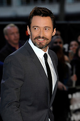 Hugh Jackman arrives for the UK premiere of the film 'Noah', Odeon, London, United Kingdom. Monday, 31st March 2014. Picture by Chris Joseph / i-Images