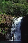 Waimea Falls, Oahu, Hawaii<br />