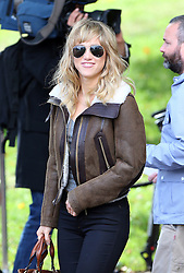Suki Waterhouse leaving the LFW: Burberry Prorsum - s/s 2014 catwalk show at Kensington Gardens, Kensington Gore in London, UK. 16/09/2013<br />BYLINE MUST READ : JAMESY/GOTCHA IMAGES<br /><br />Copyright by © Gotcha Images Ltd. All rights reserved.<br />Usage of this image is conditional upon the acceptance <br />of Gotcha Images Ltd, terms and conditions available at<br />www.gotchaimages.com