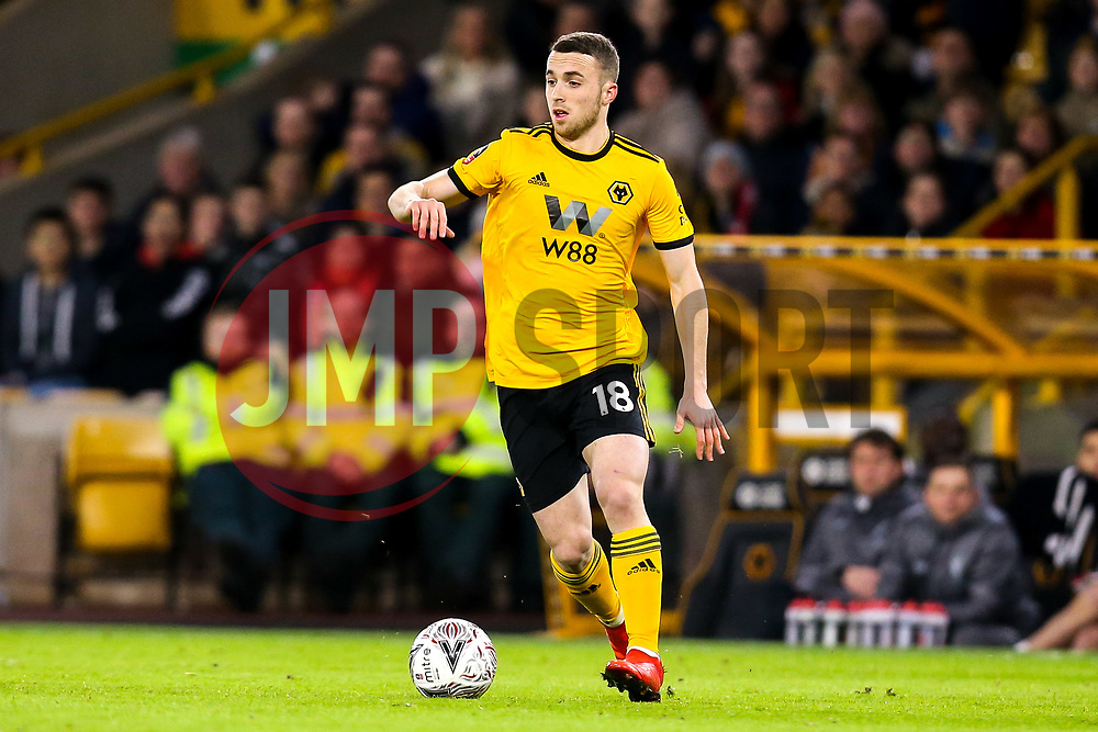 Diogo Jota of Wolverhampton Wanderers - Mandatory by-line: Robbie Stephenson/JMP - 07/01/2019 - FOOTBALL - Molineux - Wolverhampton, England - Wolverhampton Wanderers v Liverpool - Emirates FA Cup third round proper