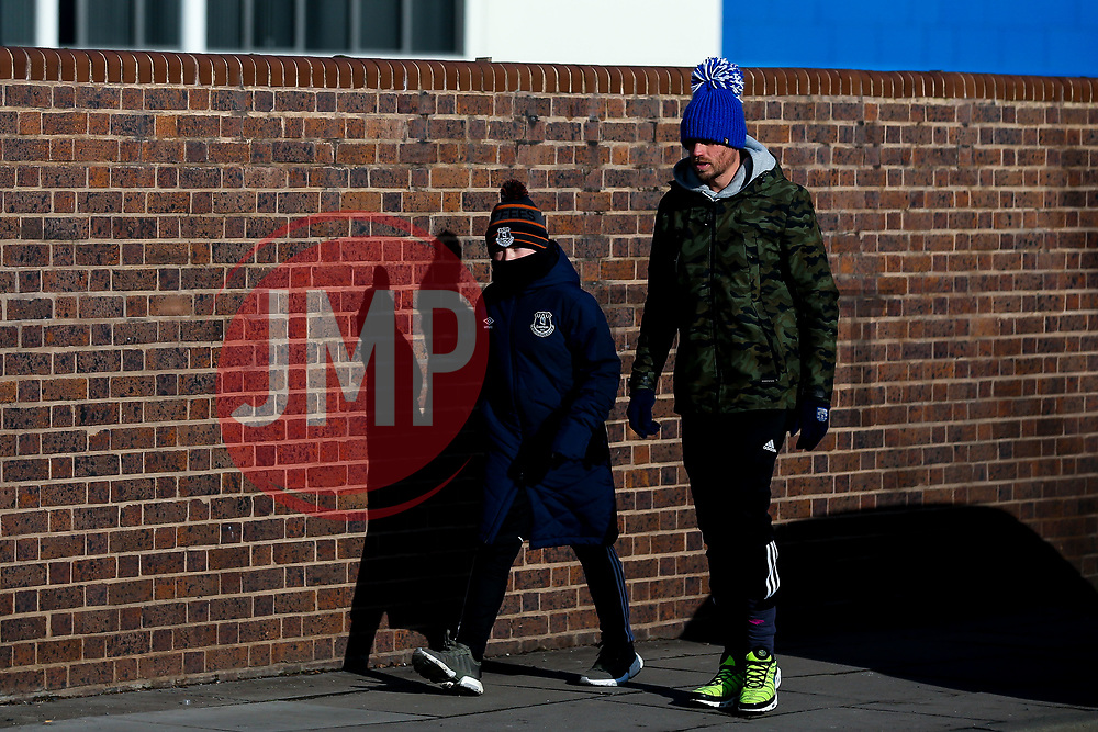 Everton fans arrive at Goodison Park, for their team's Premier League fixture against Wolverhampton Wanderers - Mandatory by-line: Robbie Stephenson/JMP - 02/02/2019 - FOOTBALL - Goodison Park - Liverpool, England - Everton v Wolverhampton Wanderers - Premier League
