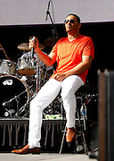 Christopher Williams performs at the 4th Annual Central Park SummerStage R&B Fest at Rumsey Playfield on August 12, 2012.