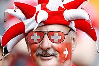 Tifosi Svizzera Fans Switzerland <br /> Lille 19-06-2016 Stade de Pierre Mauroy Footballl Euro2016 Switzerland - France / Svizzera - Francia Group Stage Group A. Foto Matteo Ciambelli / Insidefoto