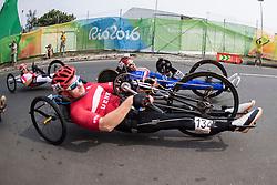 CHRISTIANSEN Kim Kluver, H4, DEN, Cycling, Road Race, JEANNOT Joel, FRA à Rio 2016 Paralympic Games, Brazil