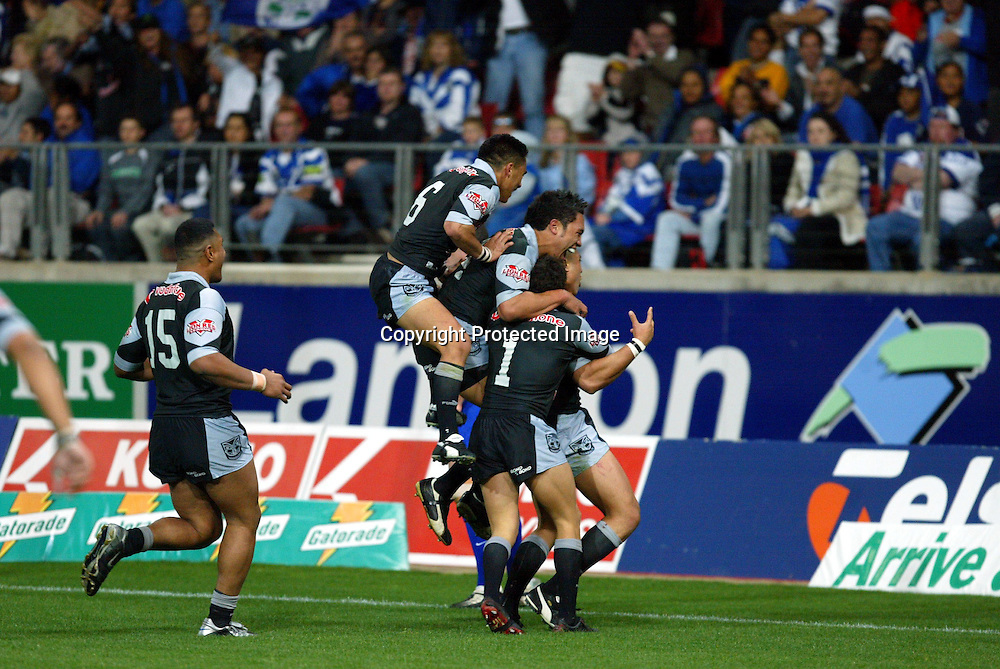 13 September, 2003. NRL Finals Week One. Sydney Showground, Sydney, Australia. New Zealand Warriors v Canterbury Bulldogs.<br />