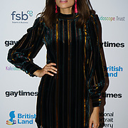 Singer Jones attend the Gay Times Honours on 18th November 2017 at the National Portrait Gallery in London, UK.