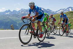 Matej Marin (SLO) of team Felbermayr Simplon Wels during the 166.8 km long 6th stage from Lienz to Kitzbuheler Horn at 67th Tour of Austria, on July 8, 2015, Austria. Photo by Urban Urbanc / Sportida