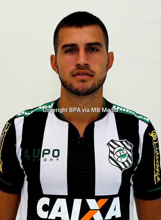 Brazilian Football League Serie A / <br /> ( Figueirense Futebol Clube ) - <br /> Jefferson Nogueira Junior &quot; Jefferson &quot;