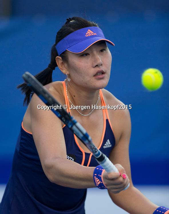 Ying-Ying Duan (CHN)<br /> <br /> Tennis - PTT Thailand Open 2015 - WTA -  Dusit Thani Hotel - Pattaya - Chonburi - Thailand  - 13 February 2015.