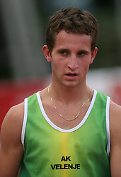 Dejan Temnikar at Athletic National Championship of Slovenia, on July 20, 2008, in Stadium Poljane, Maribor, Slovenia. (Photo by Vid Ponikvar / Sportal Images).