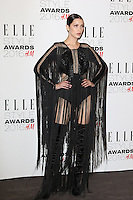 Bella Hadid, ELLE Style Awards 2016, Millbank London UK, 23 February 2016, Photo by Richard Goldschmidt