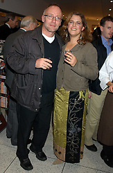 NIALL and FAITH MacARTHUR founders of Eat. at a party to celebrate the publication of Soup Kitchen by Annabel Buckingham and Thomasina Miers held at Eat. Royal Festival Hall, London SE1 on 1st November 2005.<br /><br />NON EXCLUSIVE - WORLD RIGHTS