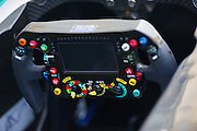 November 21-23, 2014 : Abu Dhabi Grand Prix, Mercedes AMG F1 steering wheel detail