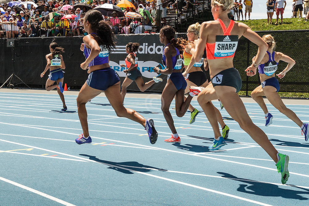 adidas Grand Prix Diamond League Track & Field: Women's 800m, Ajee WIlson