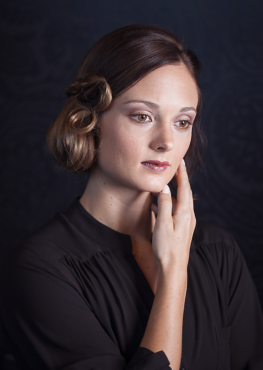 hair style photography for Globe Hair salon in Down Town Las Vegas