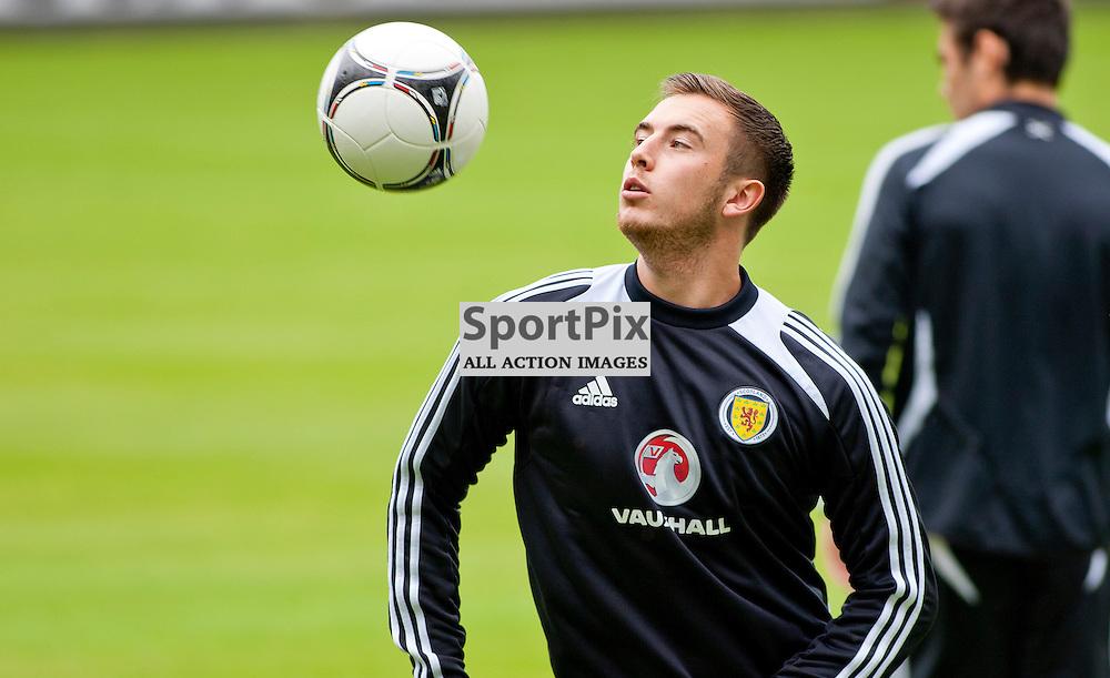 Scotland U21 Training Session East End Park 13 August 2012.....(c) Craig Brown   StockPix.eu