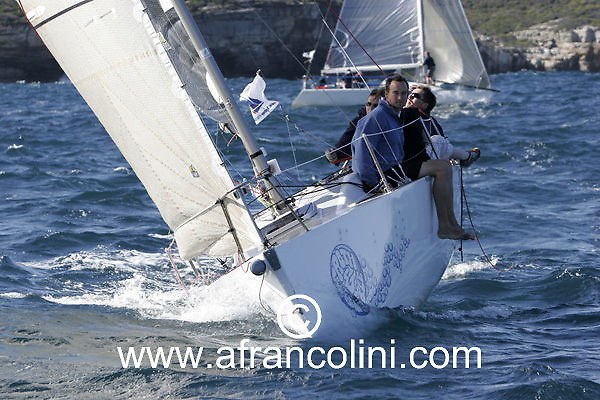SAILING - BMW Winter Series 2005 - FROTH & BUBBLE - Sydney (AUS) - 29/05/05 - ph. Andrea Francolini