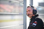 Martin Whitmarsh watches pre-season Formula One Testing at Circuit de Catalunya, Barcelona, Spain, World Copyright: Jamey Price