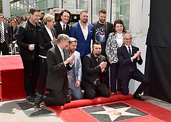NSYNC honored with star on the Hollywood Walk of Fame. Hollywood, California. Pictured: Ellen DeGeneres. EVENT April 30, 2018. 30 Apr 2018 Pictured: NSYNC,Lance Bass,JC Chasez,Joey Fatone,Chris Kirkpatrick,Justin Timberlake,Ellen DeGeneres,Carson Daly. Photo credit: AXELLE/BAUER-GRIFFIN/MEGA TheMegaAgency.com +1 888 505 6342