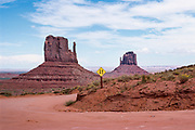 Monument Valley Navajo Tribal Park, Arizona-Utah, USA, August 1988